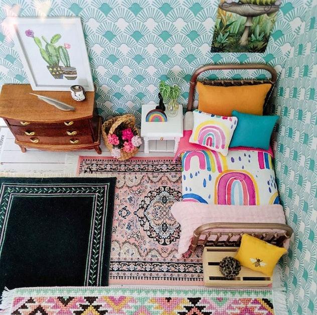 Doll house design on instagram