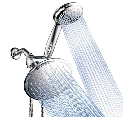 DreamSpa 3-Way Rainfall Shower Head and Handheld Combo