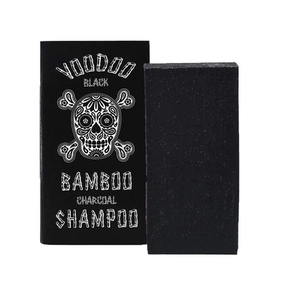 Beauty and the Bees Voodoo Black Bamboo Charcoal Shampoo Bar