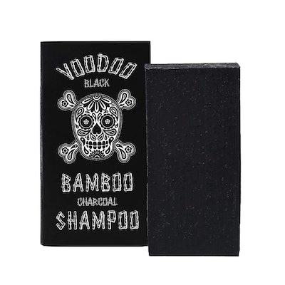 Beauty and the Bees Voodoo Black Bamboo Charcoal Shampoo Bar
