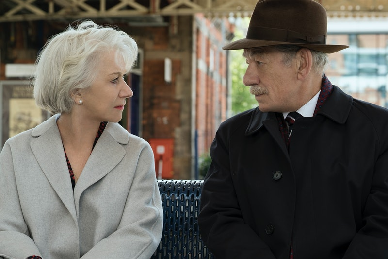 Helen Mirren as Betty and Ian McKellen as Roy in The Good Liar