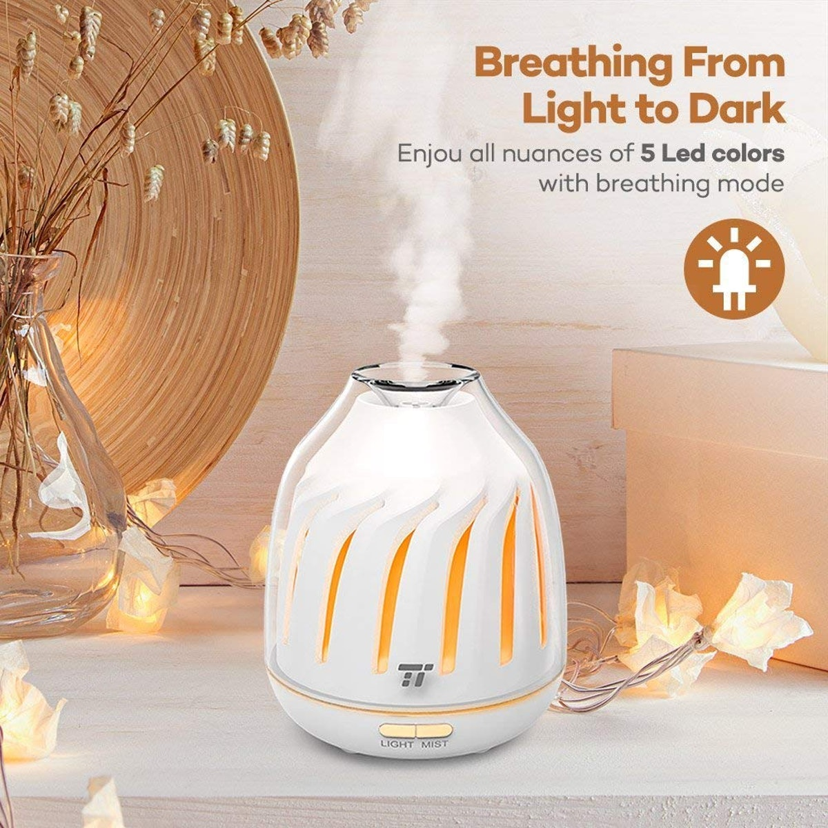 TaoTronics Silent Operation Essential Oil Diffusers