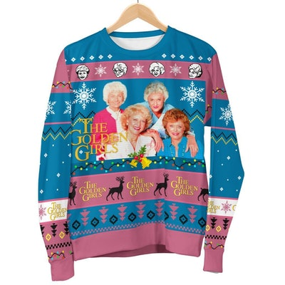 Golden Girls Ugly Christmas Sweatshirt