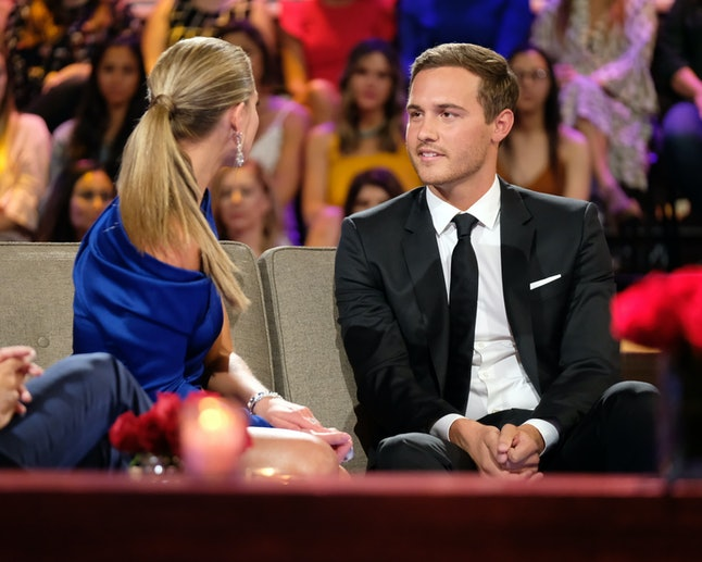Peter Weber gets Bachelor advice from Colton Underwood