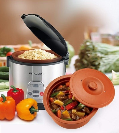 High-Fired VitaClay 2-in-1 Rice N Slow Cooker