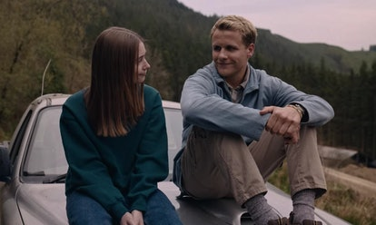 Alyssa (Jessica Barden) and Todd (Josh Dylan) in 'The End of the F***ing World' Season 2