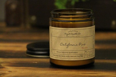 California Pine Scented Candles