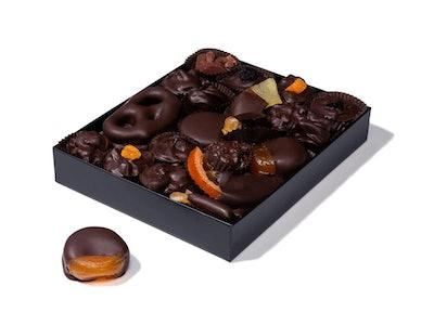 Vegan Dark Chocolate Gourmet Chocolates Assortment Gift Box