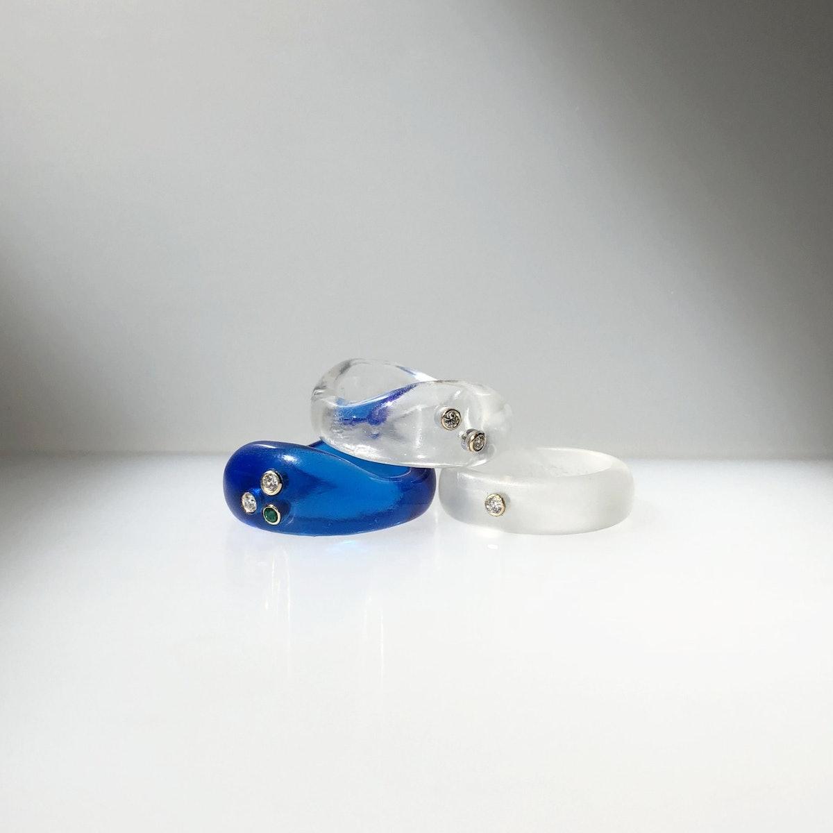 Resin Gemstone Add-On Ring