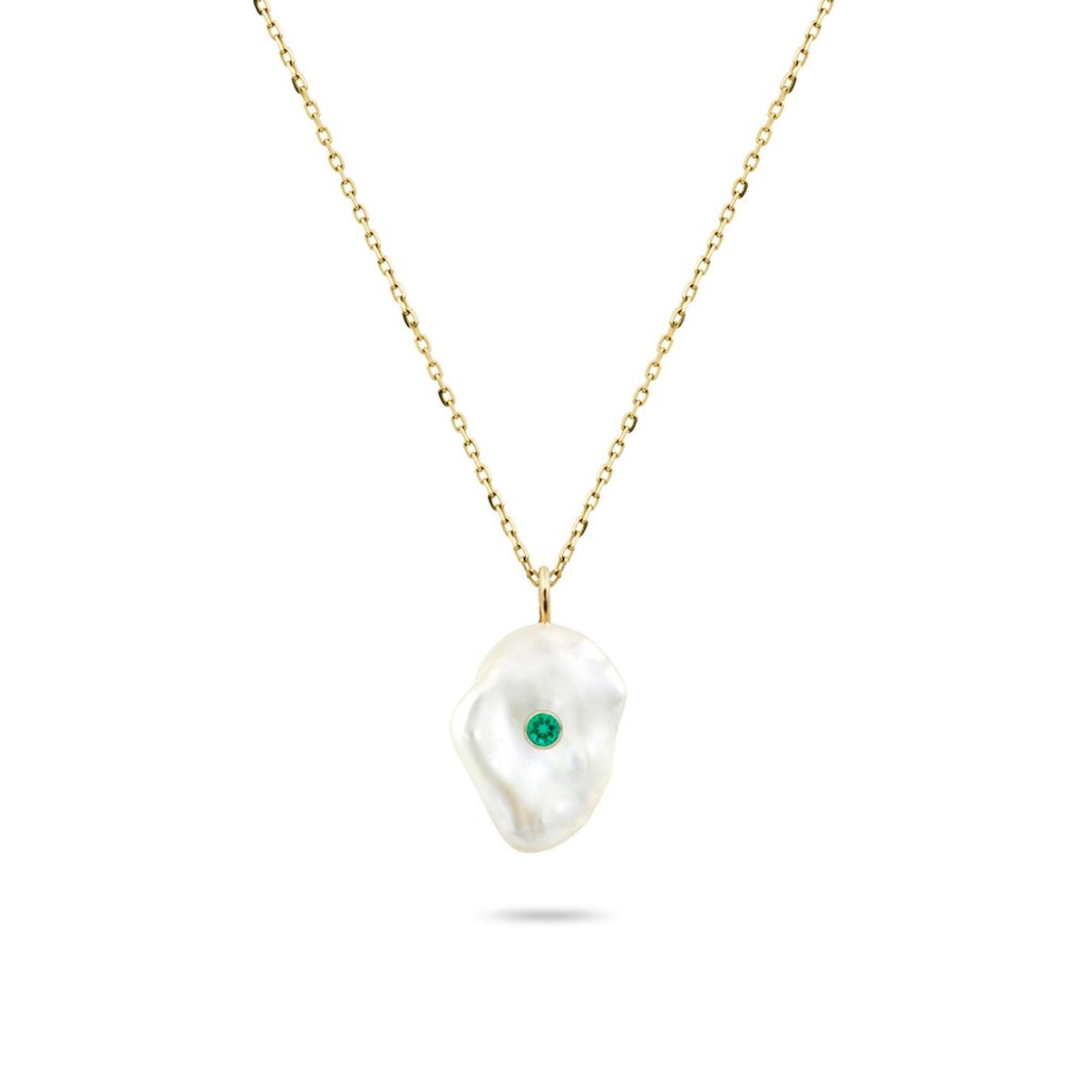 Kenna Birthstone Pearl Pendant