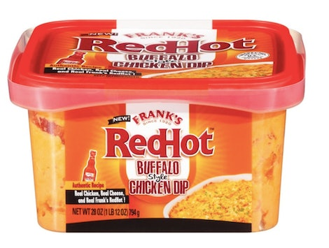 Frank's Redhot launched a buffalo-style chicken dip.