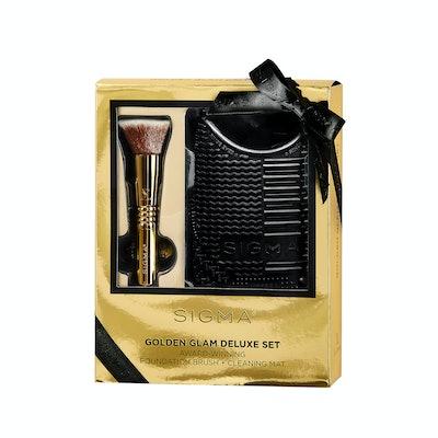 Sigma Beauty Golden Glam Deluxe Set