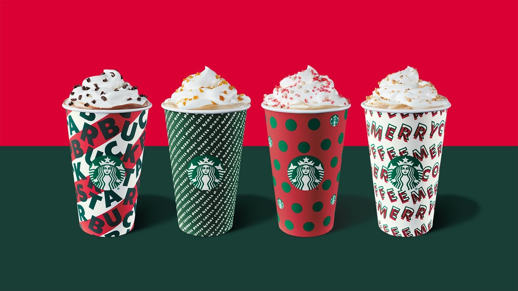Starbuck's holiday 2019 drinks