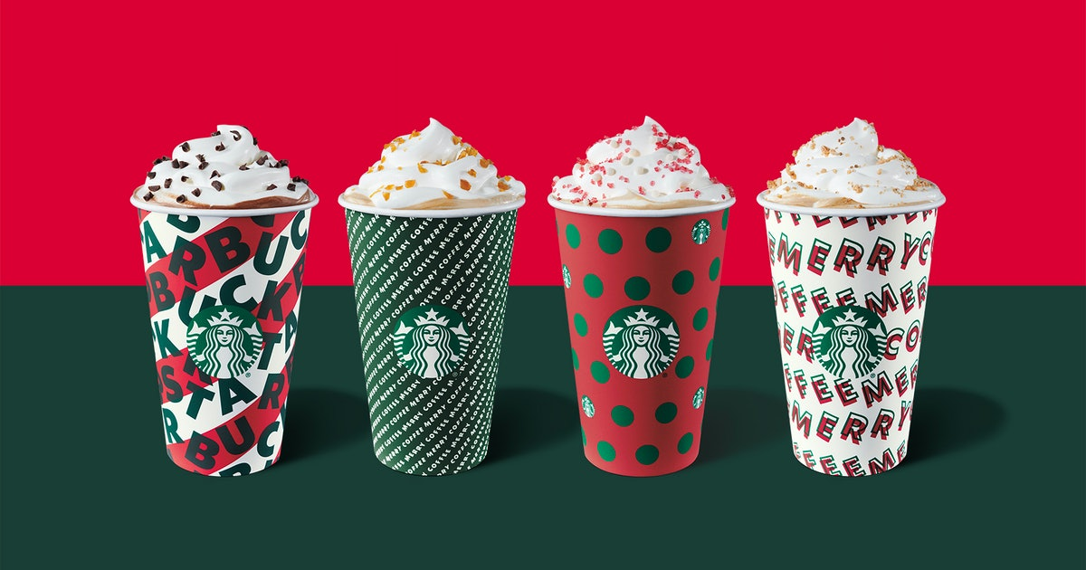 Starbucks Holiday 2019 Drinks Are Coming Back Nov 7 With
