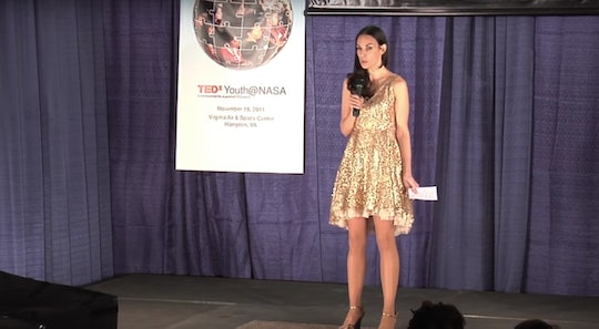 A scientist wore a sparkly dress to a NASA event after a request from a group of girls
