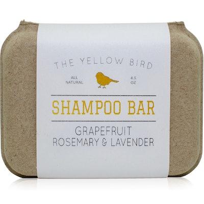 The Yellow Bird Shampoo Bar
