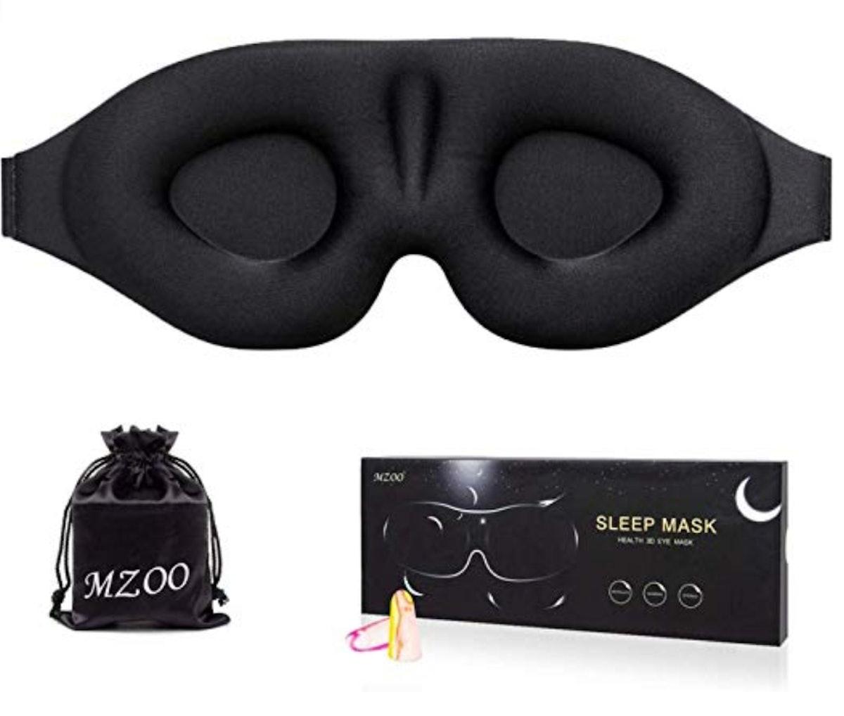 MZOO 3-D Sleep Eye Mask