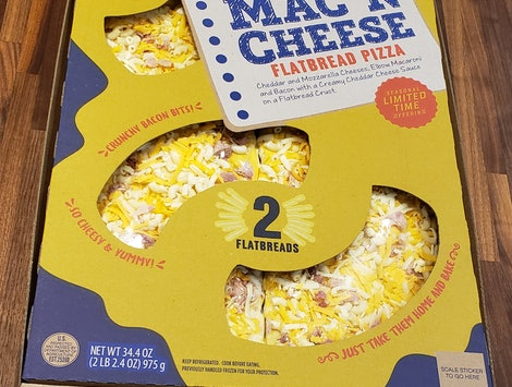 "New Mac n"" Cheese Flatbread Pizzas have arrived at Sam's Club."