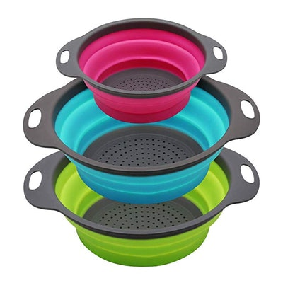 Qimh Collapsible Colander (set of 3)