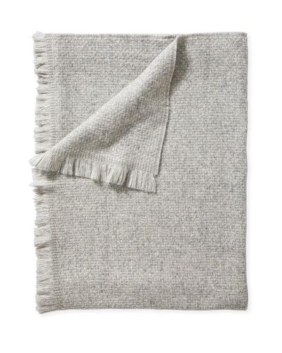 Milo Alpaca Throw Blanket