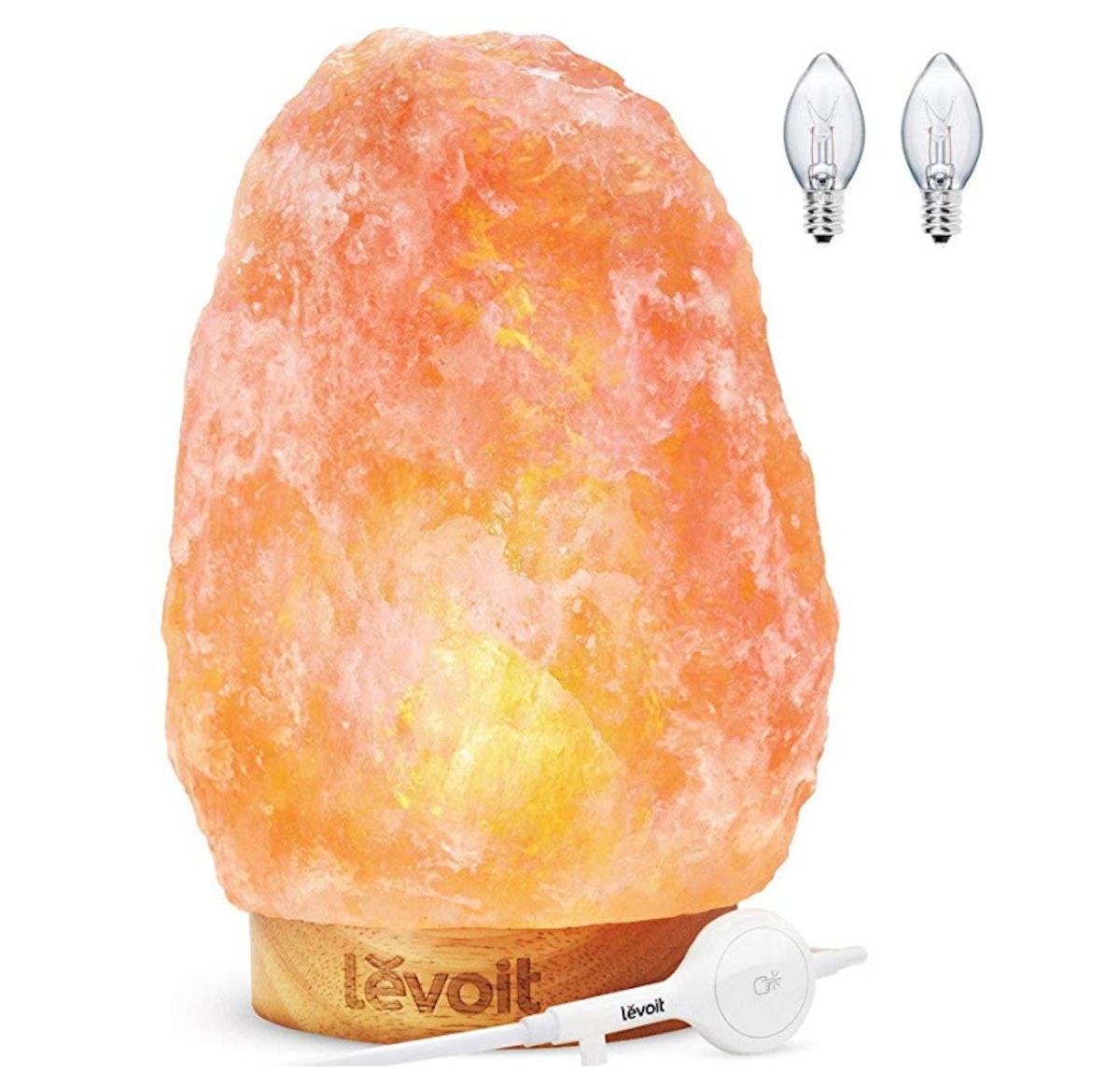 Levoit Kana Himalayan Salt Rock Lamp