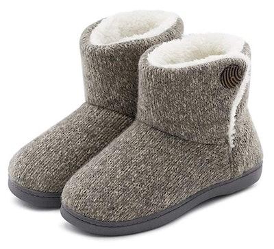 Ultraideas Women's Comfort Bootie Slippers