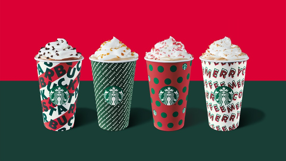 Starbucks holiday cups and beverages are officially back Nov. 7.