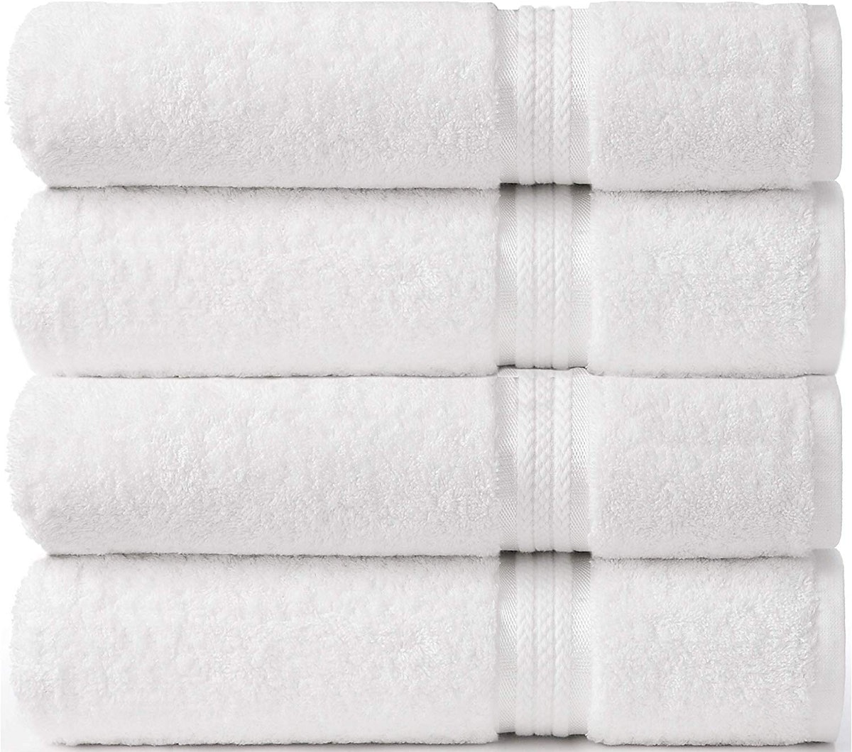 Cotton Craft Ultra Soft Extra Large Bath Towels (4 Pack)