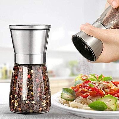 Ebaco Original Stainless Steel Salt or Pepper Grinder