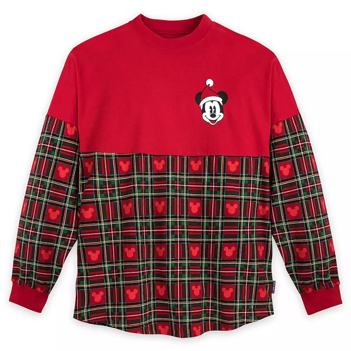 Mickey Mouse Merry Christmas Spirit Jersey for Adults