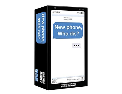 New Phone, Who Dis? - Adult Party Game