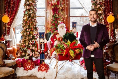 Lance Bass hosts HGTV's Outrageous Holiday Houses special.