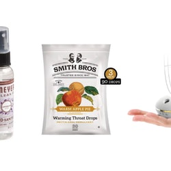 Three products to keep on your desk during flu season