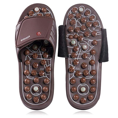 BYRIVER Therapeutic Acupuncture Massage Flip Flops