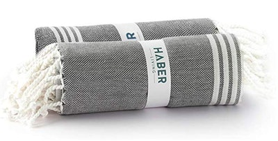 HABER Turkish Cotton Towels (2-Pack)