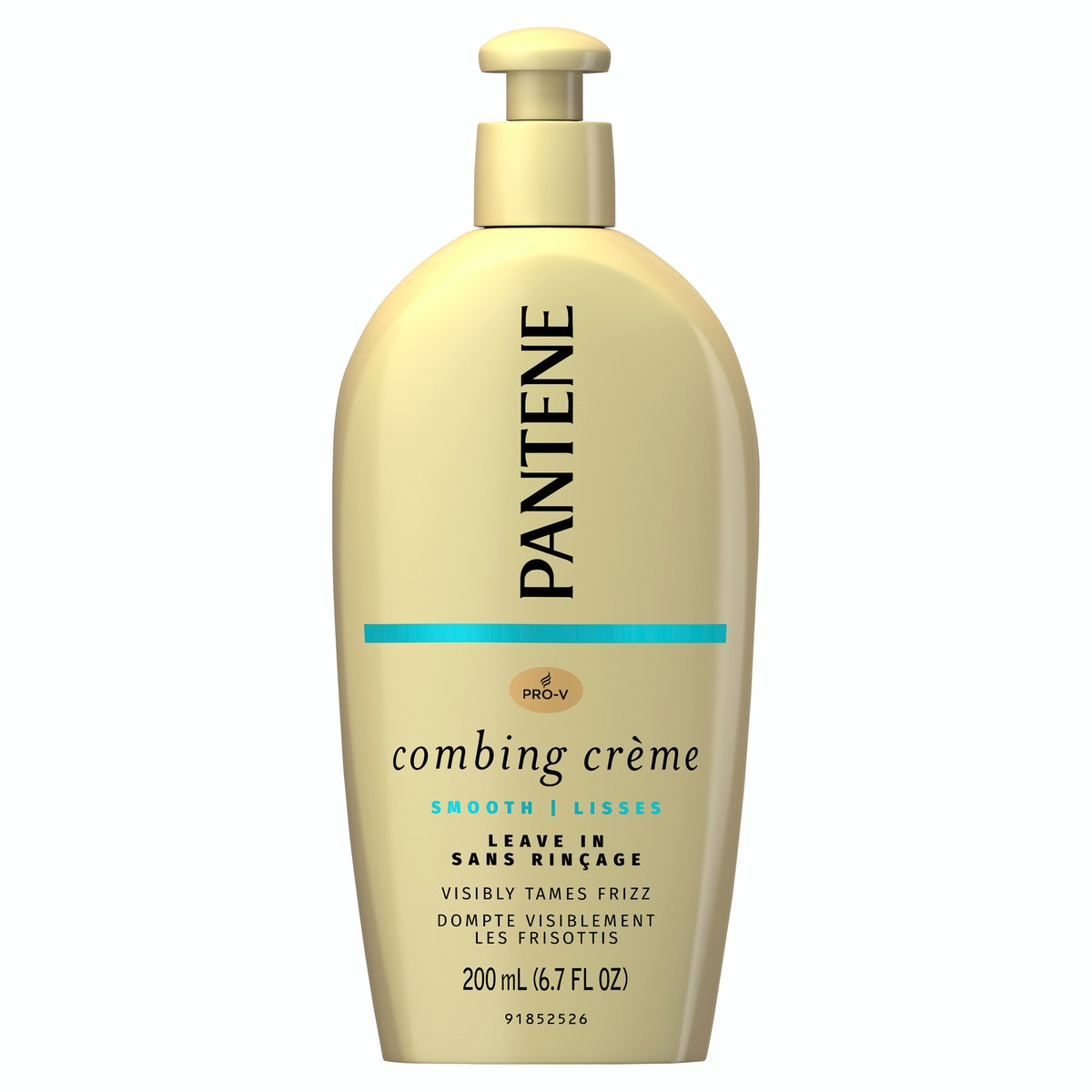 Pantene Pro-V Nutrient Boost Smooth Combing Cream to Tame Frizz and Block Humidity