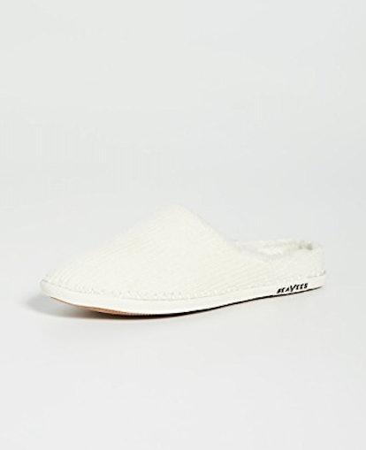 Stag Scuff Slippers