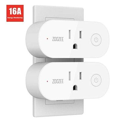 T Teckin Smart Plug Wifi Outlet (2-Pack)