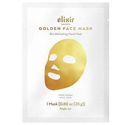 Elixir Premium Lab Gold Collagen Face Mask