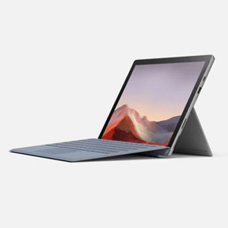 Surface Pro 7 (Platinum, Intel Core i3, 4GB, 128GB)
