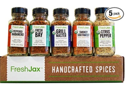 FreshJax Grilling Spice Gift Set (5-Pack)