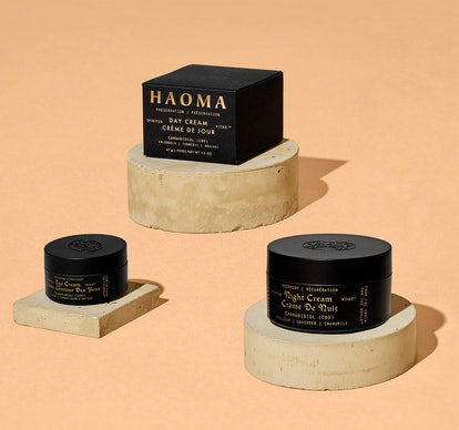 Packaging of new skincare brand HAOMA