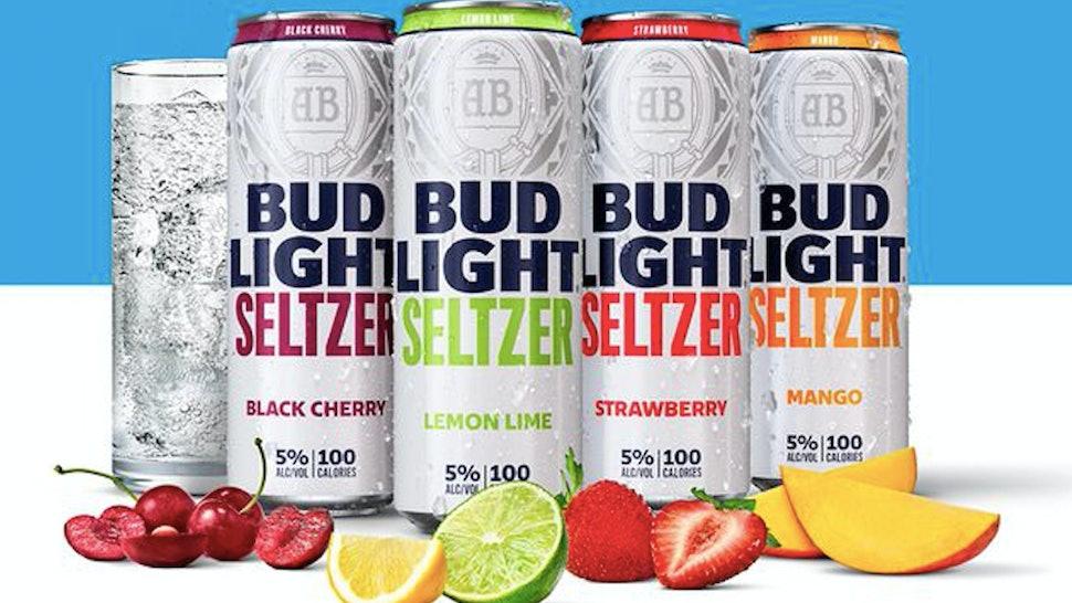 Bud Light Seltzer is hitting shelves in 2020.