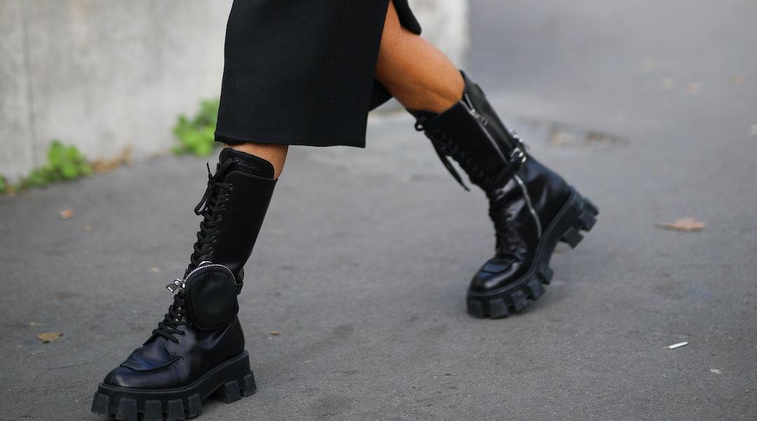 Resultado de imagen para military boots street style