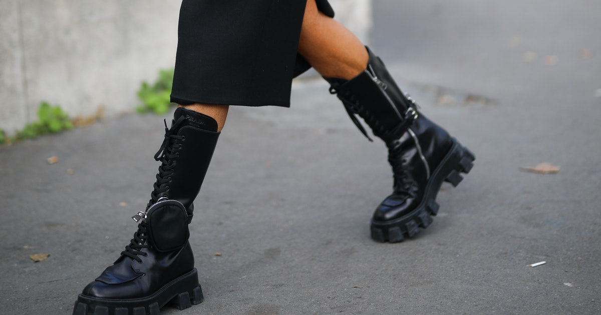 Ladies Combat Boots Fashion