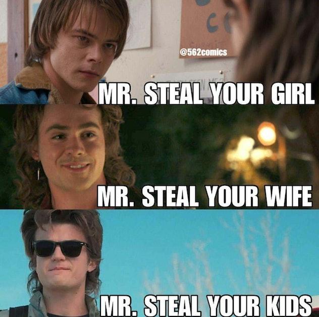 Steve is Mr Mom