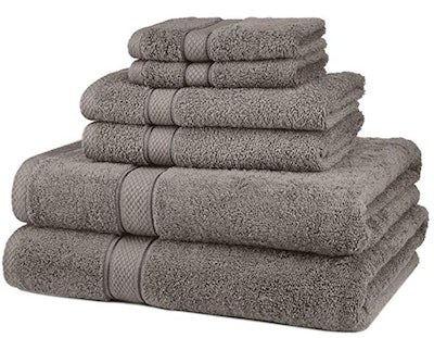 Pinzon Blended Egyptian Cotton Bath Towel Set (6-Piece Set)