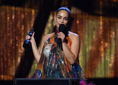 Jorja Smith won a number of awards at the BRITs 2019