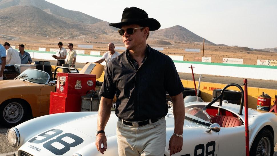 Matt Damon as Carroll Shelby in Ford v Ferrari