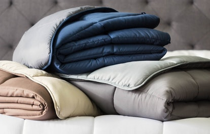 Available in seven colors and prints, you can use this blanket as a standalone or a duvet insert.